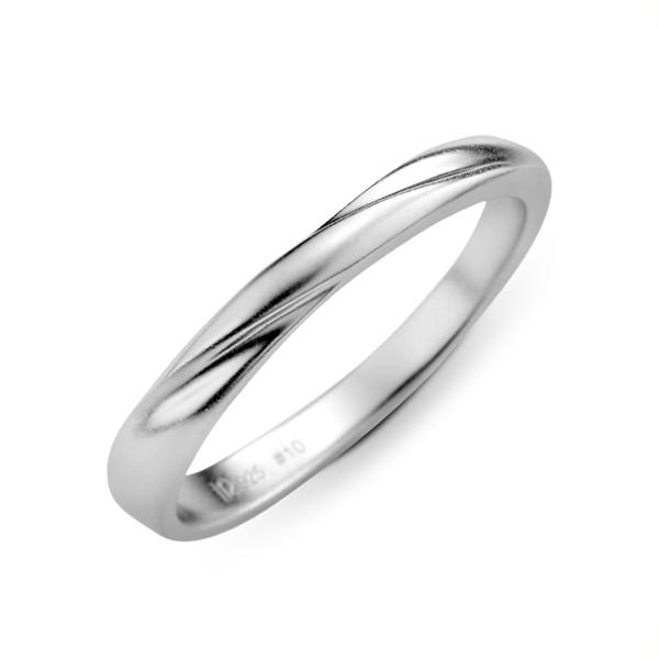 心心相印 鉑金(白金)男款結婚對戒