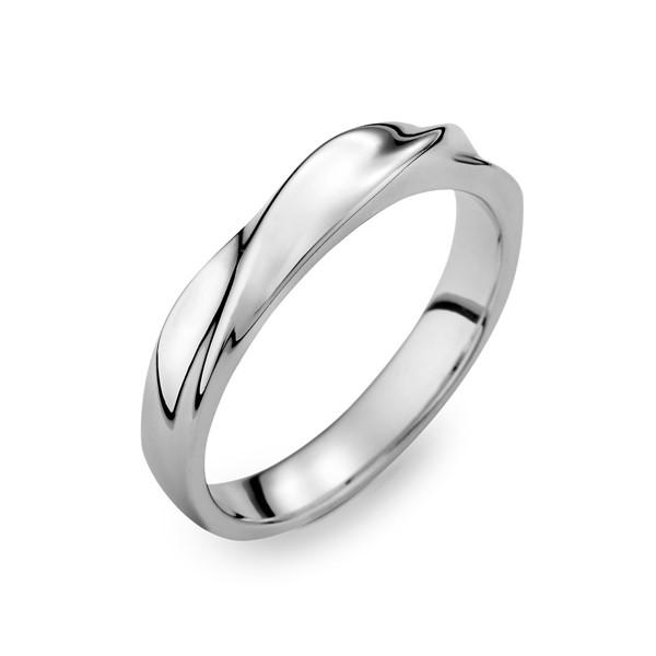 伊漾-敦厚 白金(鉑金)男款結婚對戒