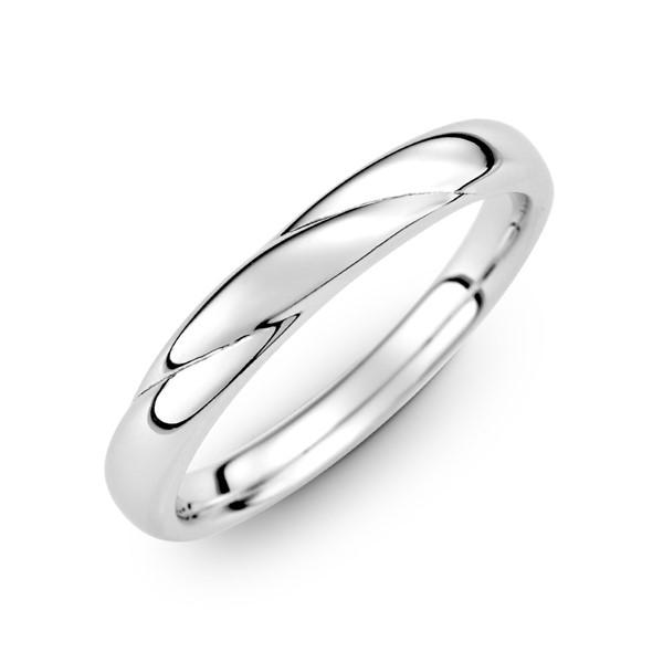 纏綿的愛 定情紀念 鉑金(白金)男款結婚對戒