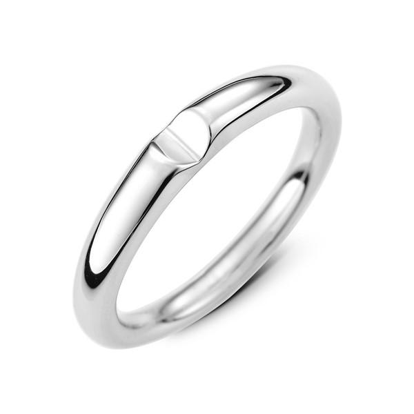 窩心定情紀念 鉑金(白金)男款結婚對戒