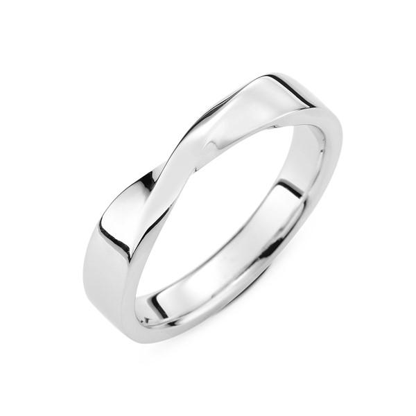 永恆眷戀 鉑金(白金)男款結婚對戒