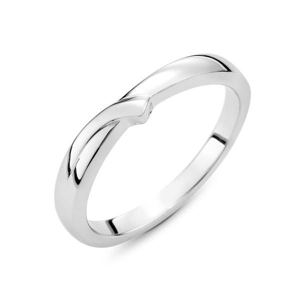 閃耀幸福 鉑金(白金)男款結婚對戒