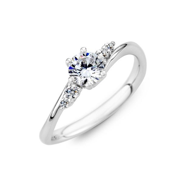 濃情蜜意 鉑金(白金)鑽石結婚套戒(三件組)