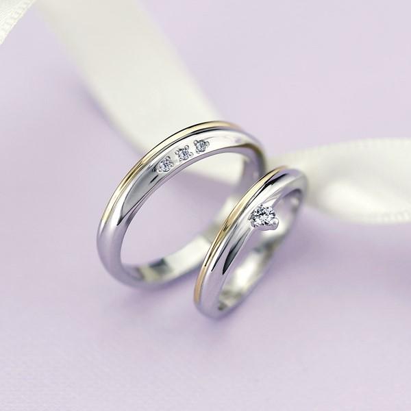衷心所愛   白金-18K金-結婚對戒-女