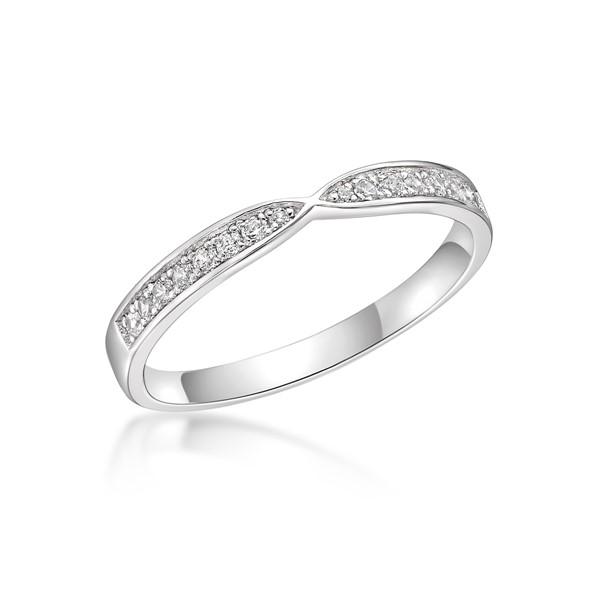 情有獨鍾 玫瑰金(18K金)鑽石結婚對戒