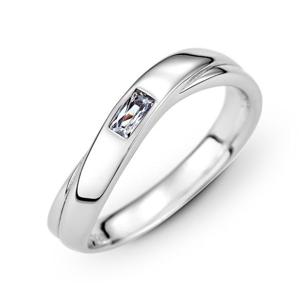 濃情蜜意 玫瑰金(18K金)鑽石結婚對戒