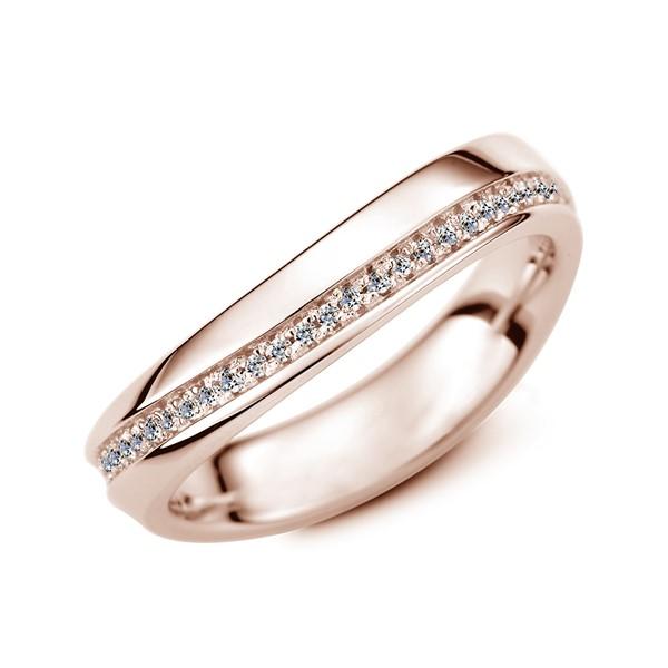 珍愛永生 玫瑰金(18K金)鑽石結婚對戒