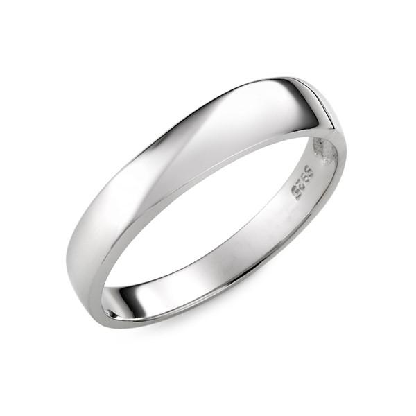 星空 定情紀念對戒-純銀/鋯石