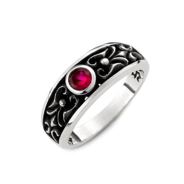 約誓圓鑽個性戒指