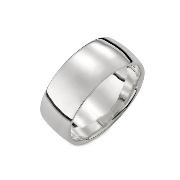 經典素面圓弧戒指