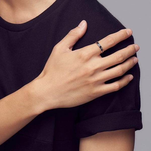 簡約格調線條戒指