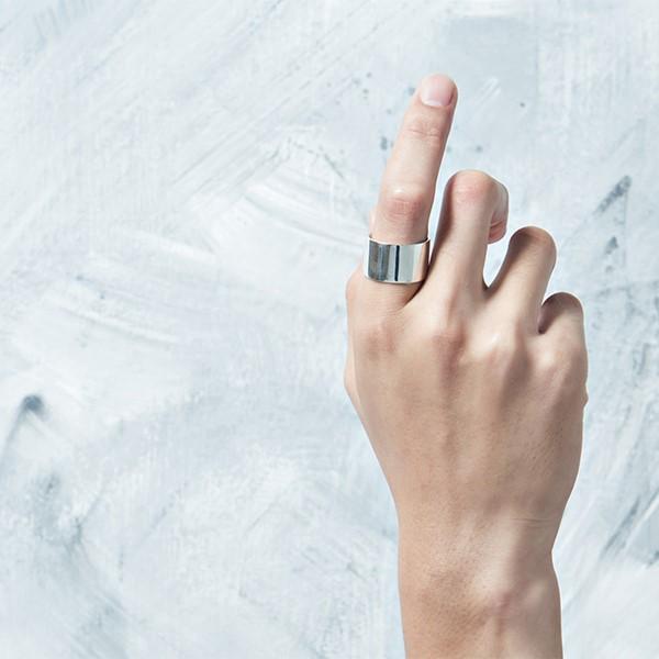 極簡素面簡約戒指