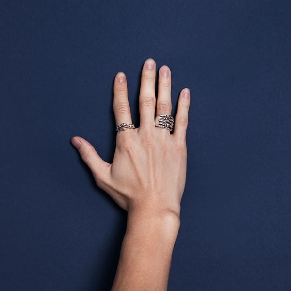 霸氣爪子造型活圍戒指