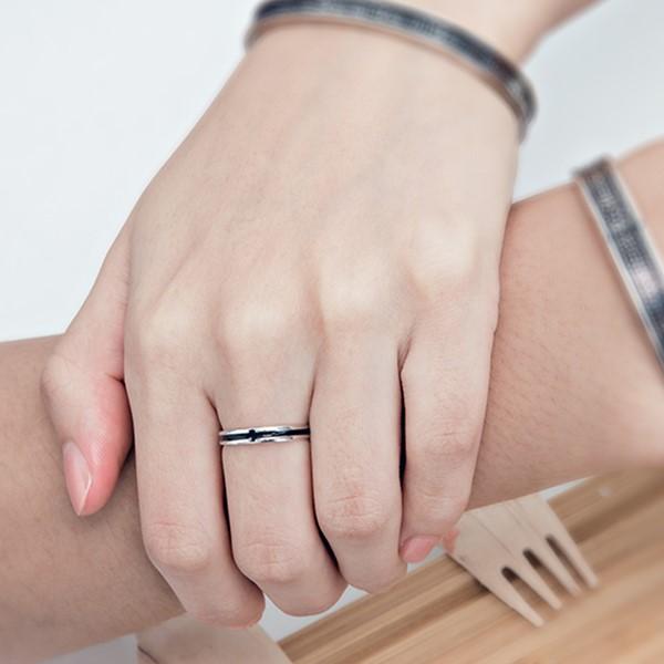 十字星戀人戒指