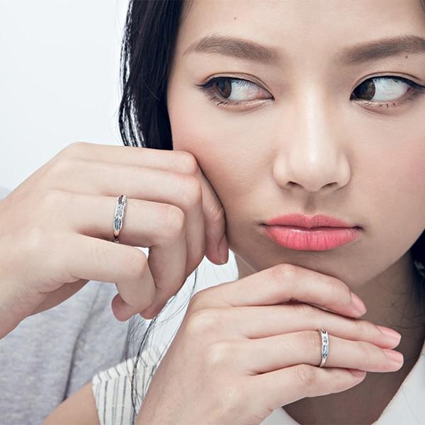 純愛單鑽戒指