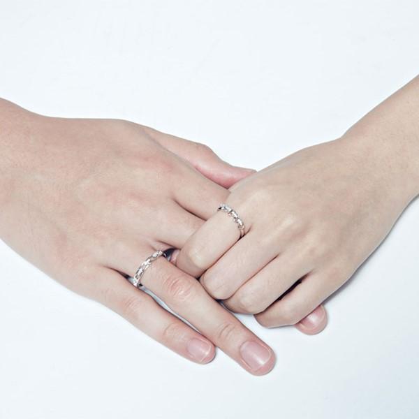 愛的串聯別緻戒指