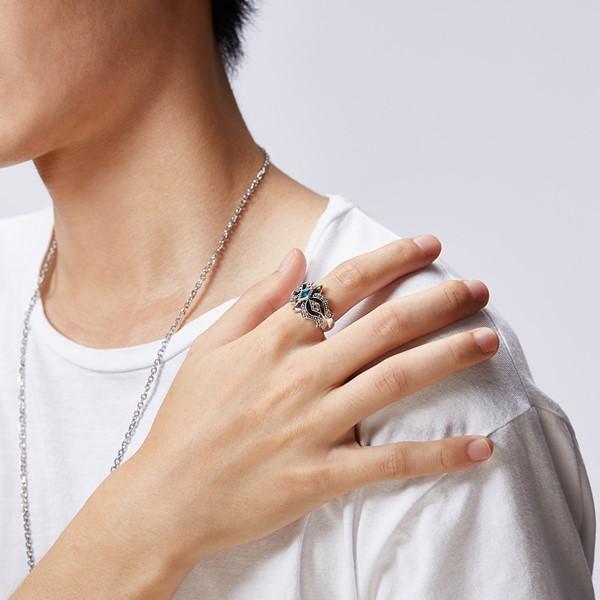 硫化嘉年華個性戒指