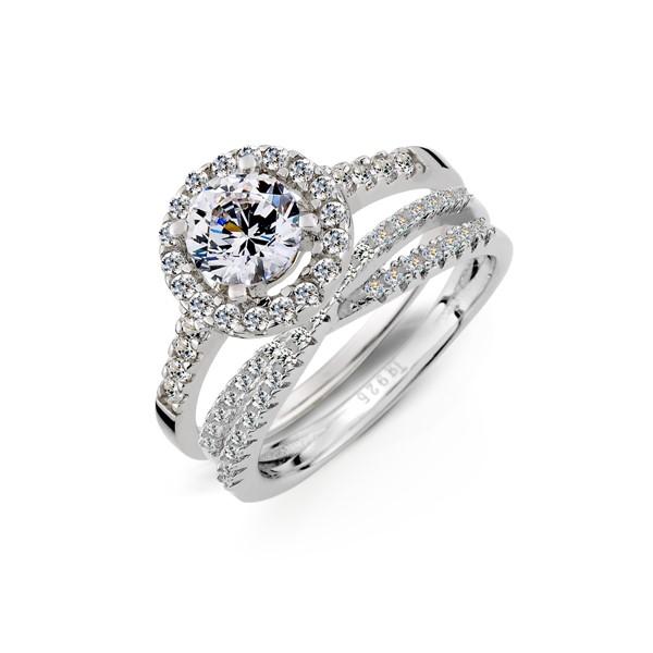 奢華幸福溫度組合戒指
