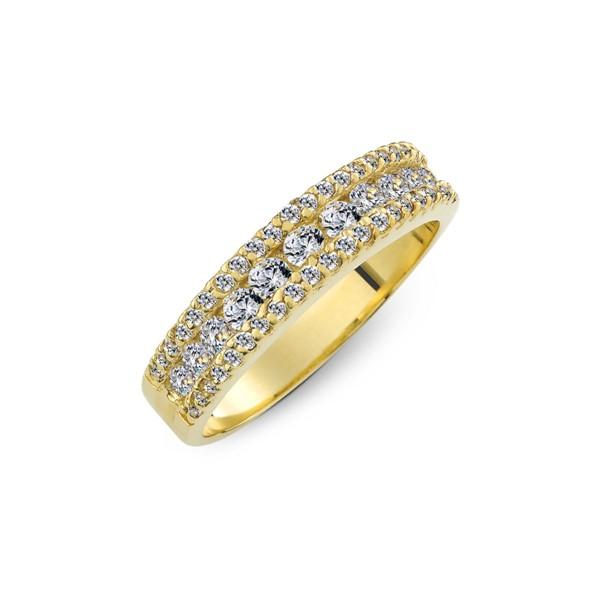 閃耀寬版戒指