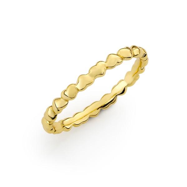 愛的心心相連戒指