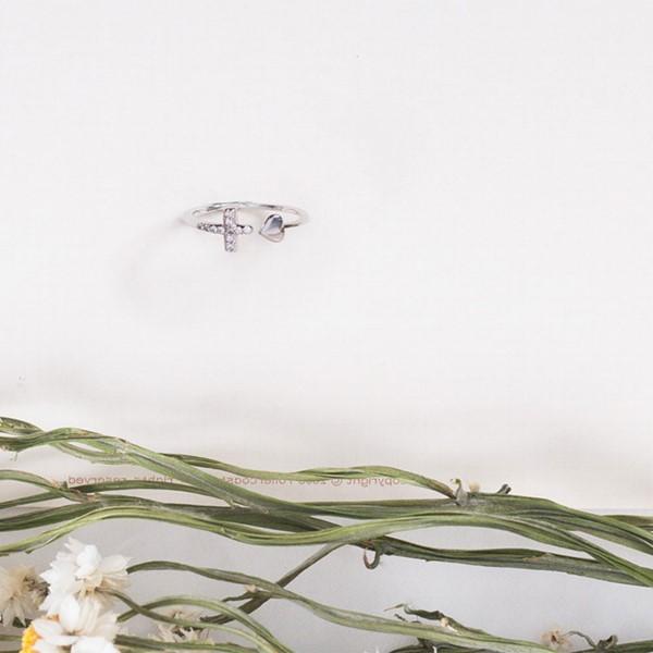 花型滿鑽活圍戒指