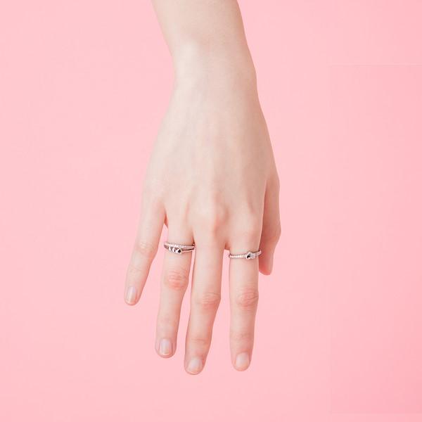 一箭穿心浪漫戒指