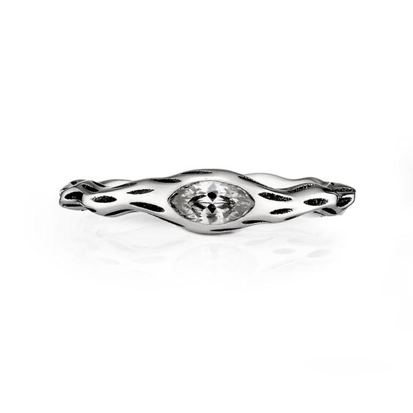 獨特染黑戒指