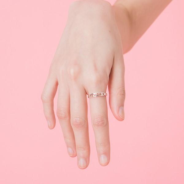 愛似百匯戒指