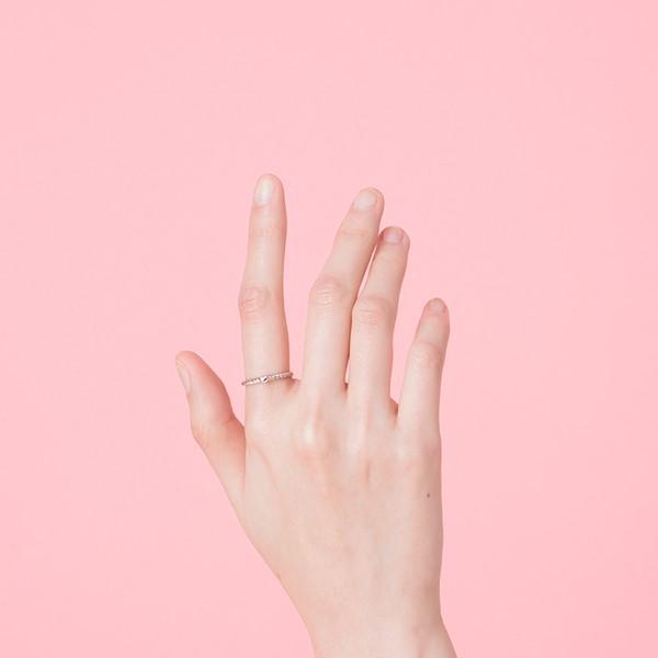法式浪漫麻花戒指/尾戒
