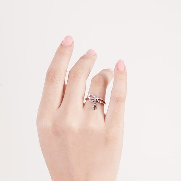 花之戀簡約戒指