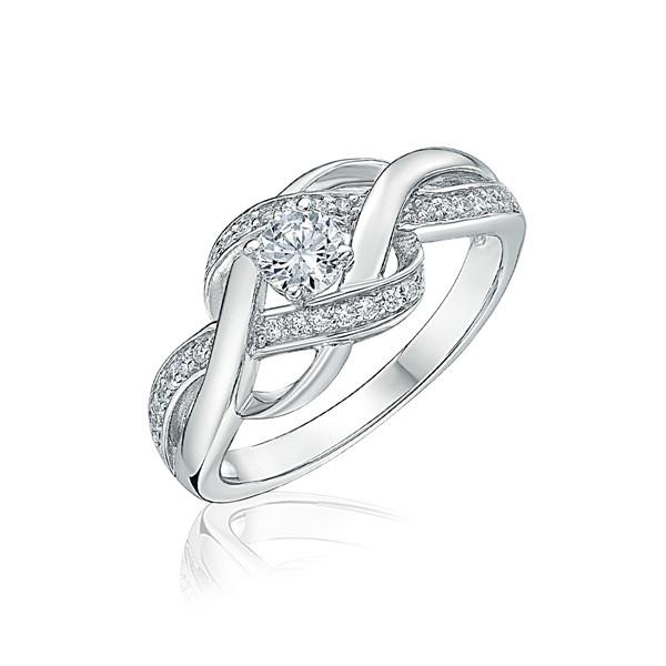 氣質流線奢華精選首飾戒指