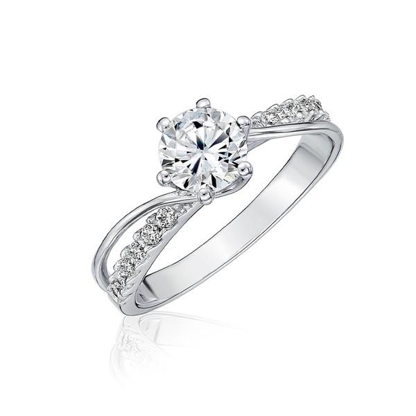 絕美設計璀鑽首飾戒指