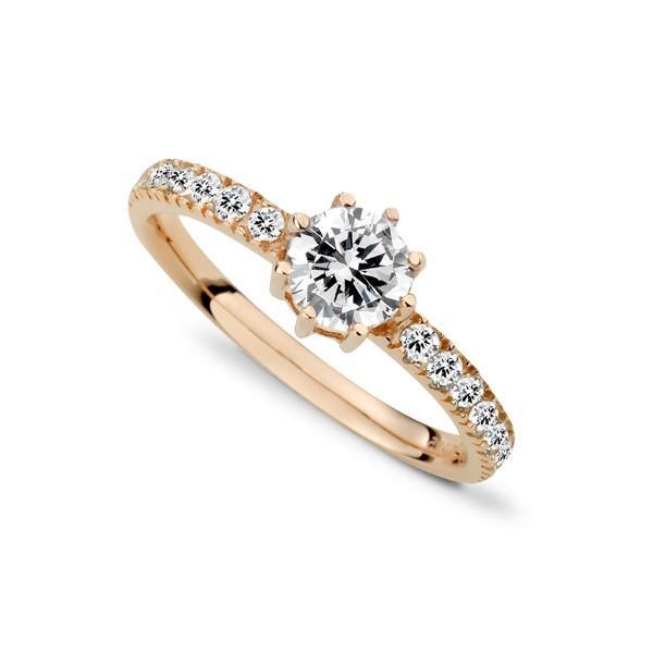璀璨奢華璀鑽系列戒指