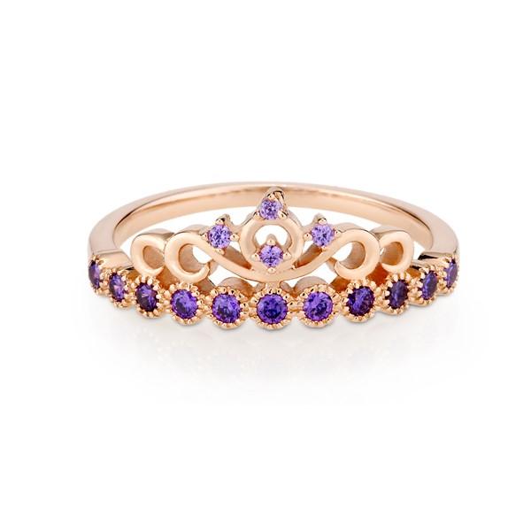 仙杜瑞拉彩鑽戒指