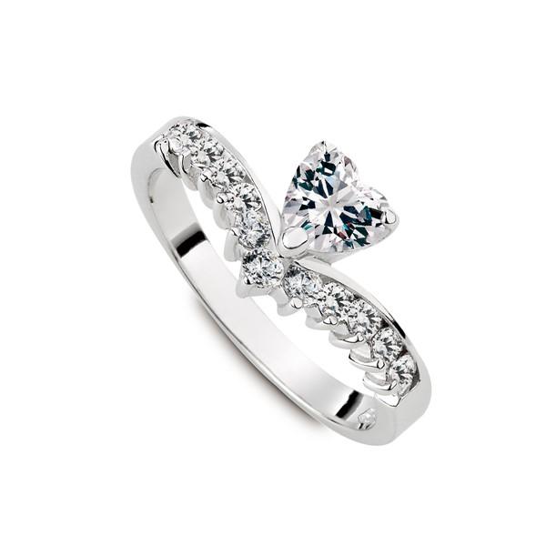 心型鑽奢華璀鑽系列戒指