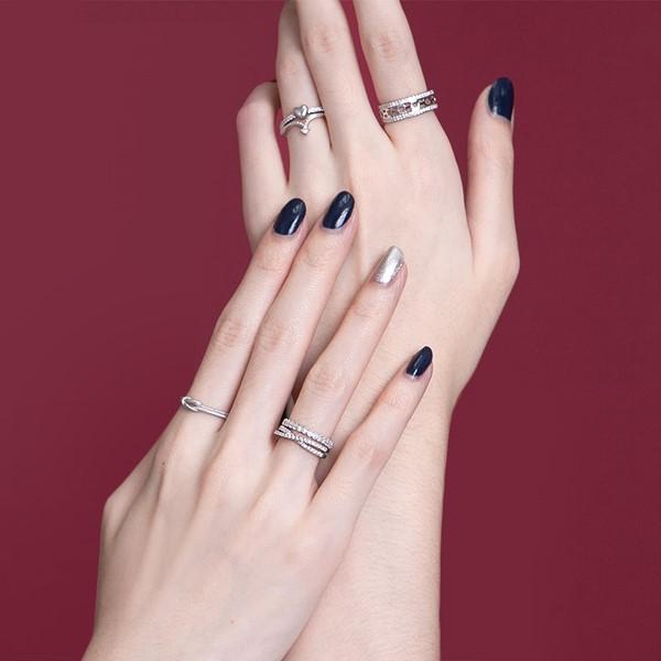 簍空設計感純銀戒指