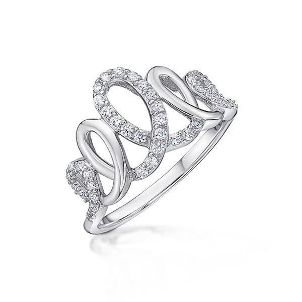 皇冠造型奢華戒指