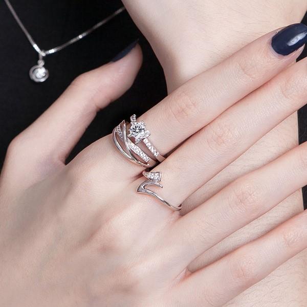 曲線設計戒指