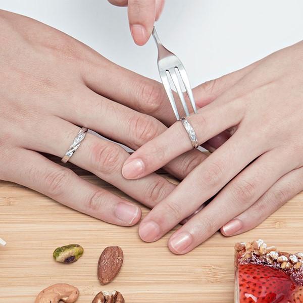 愛的蜜糖流線感戒指