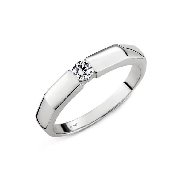 最初的夢想切面厚實戒指