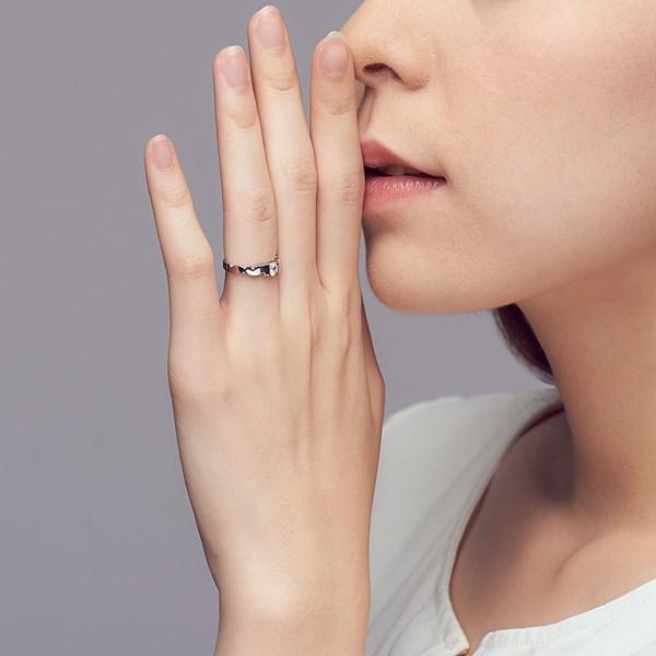 唯美曲線設計戒指