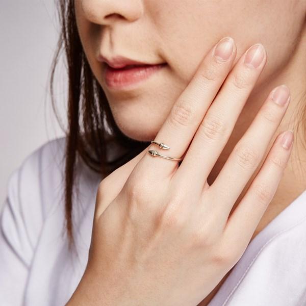 雙箭個性姊妹戒指