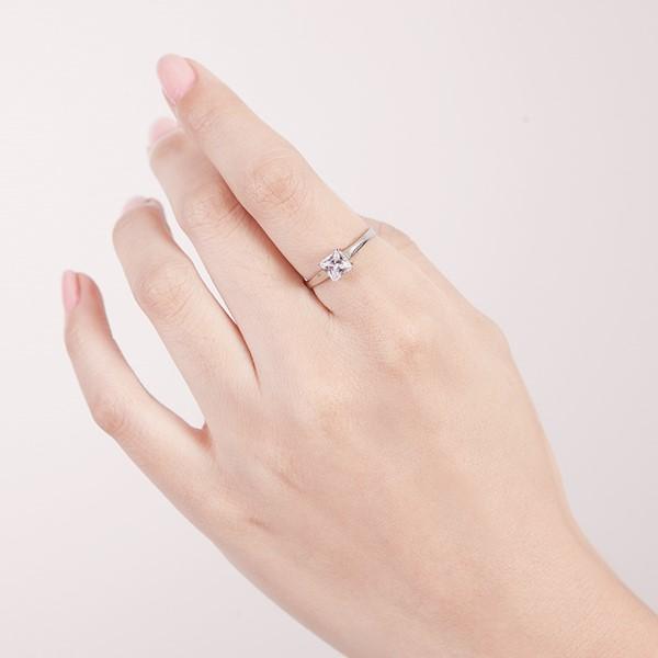 愛的蜜方經典方型戒指