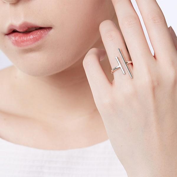 姊妹款線型簡約戒指