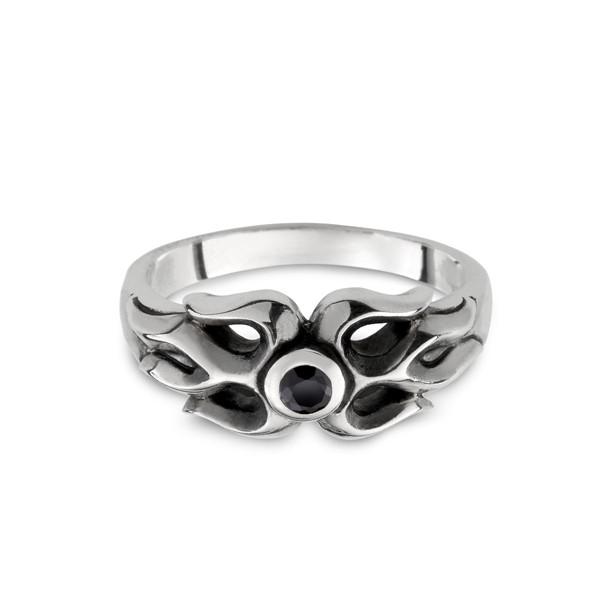 火焰個性戒指