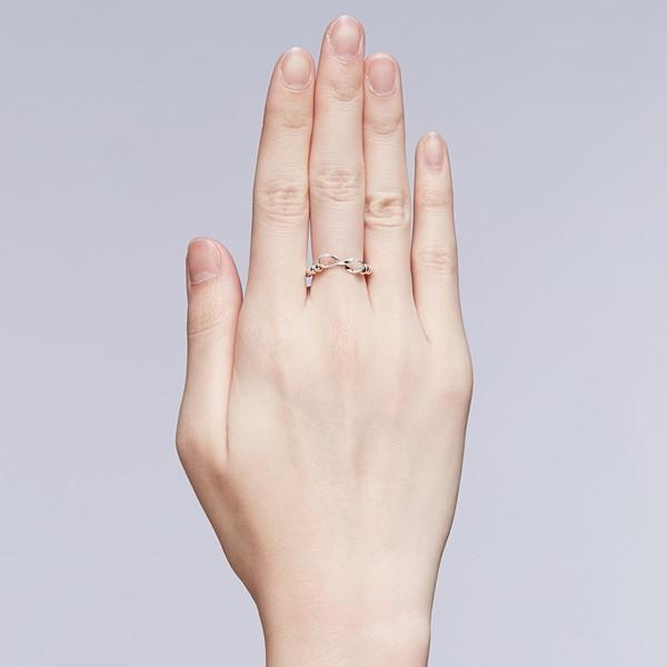 無限眷戀珠珠戒指