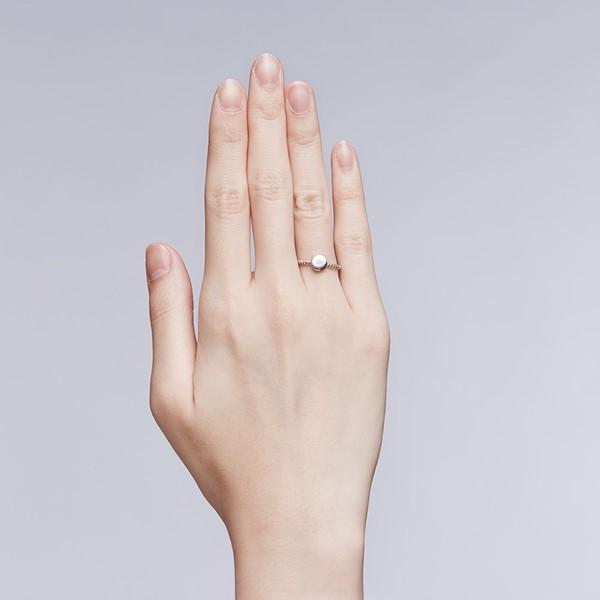 幾何圓戒指