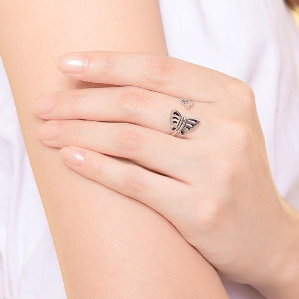 蝶戀活圍戒指