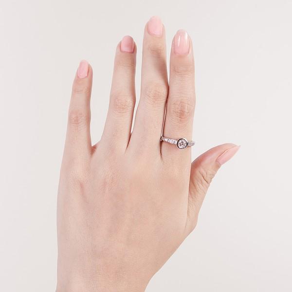 薔薇之戀滿鑽戒指