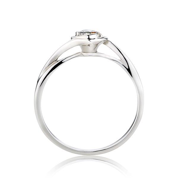 心動流線造型戒指